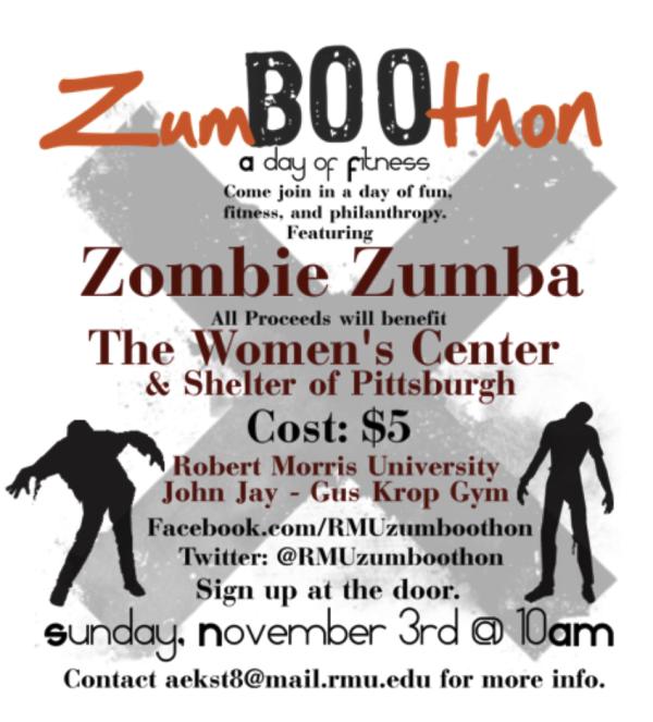ZumBOOthon flyer