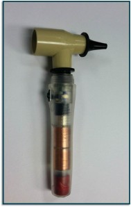 The RMU EWH's otoscope prototype