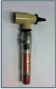 The RMU EWH's otoscope prototype